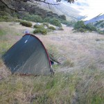 Campsite in Coldwater Valley