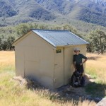 Will at the Old Ada Pass Deercullers Hut