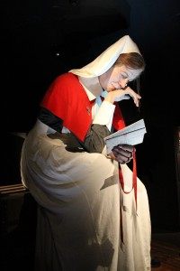 Staff Nurse Lottie Le Gallais upon reading about the death of her brother at Galipolli.